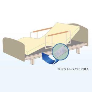 ベッド設置タイプの高齢者介護支援システム
