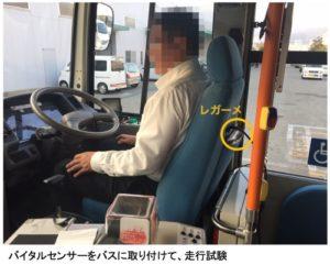 ドライバーのためのバイタル支援システム