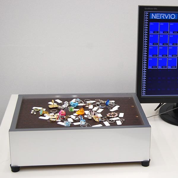宝石等貴重品のリアルタイム管理システム