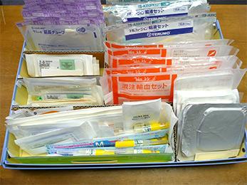 薬品等物品管理・血液検査管理システム