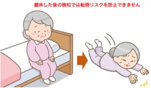 床マット式離床センサー